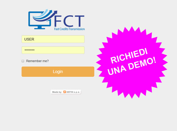 DEMO fast credit transmission